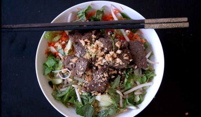 Bun bo (ou Bo bun) vietnamien