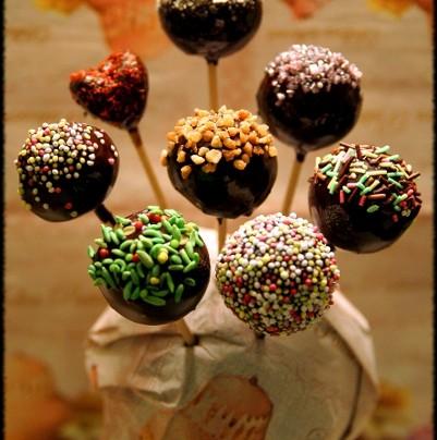 Bonbon de chocolat à la pomme