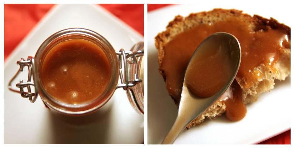 Caramel à tartiner au beurre salé