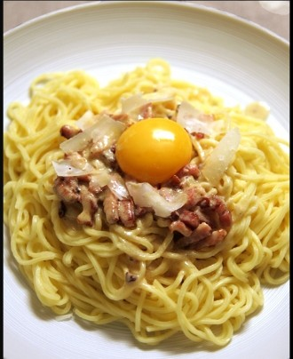 Spaghetti al carbonara