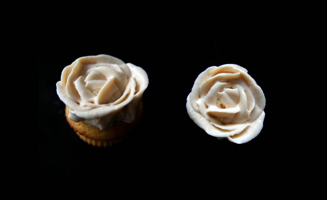 Mini cupcakes au caramel salé