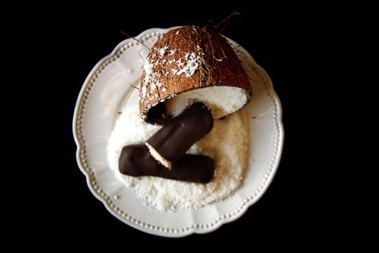 Barre choco-coco façon Bounty