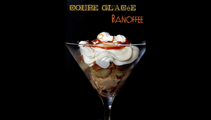 Coupe glacée « banoffee » au Speculoos