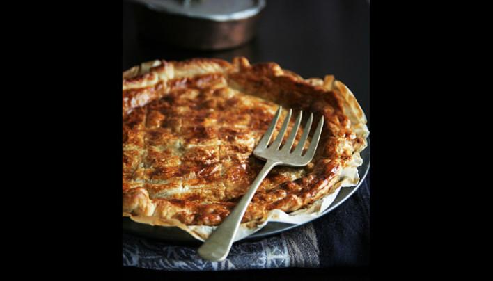 Meat Pie (ou tourte à la viande et champignons)