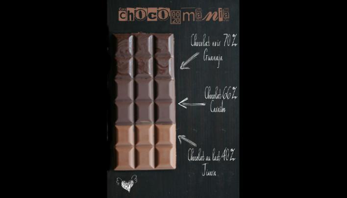 Tablette de chocolat à ma façon {chocolat mania}