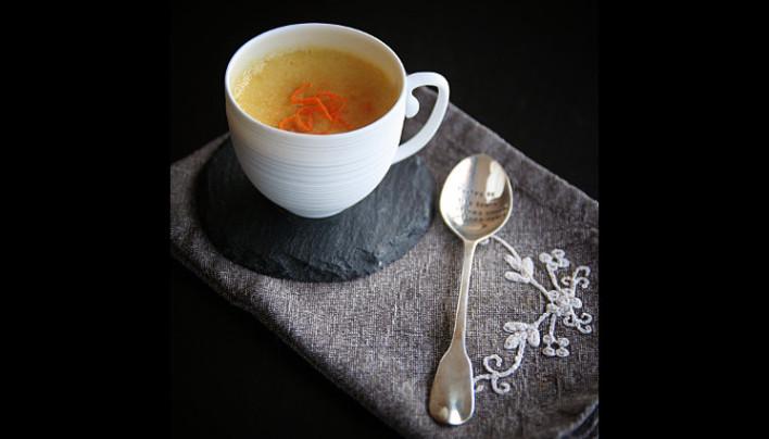 Petit pot de crème au thé épicé des rois mages