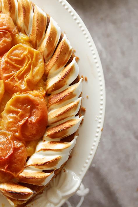 Tarte palet breton aux abricots et compot de p ches la cuisine de josie - Fond de tarte palet breton ...