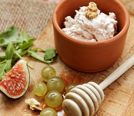 Fromage aux figues, noix et piment d'Espelette