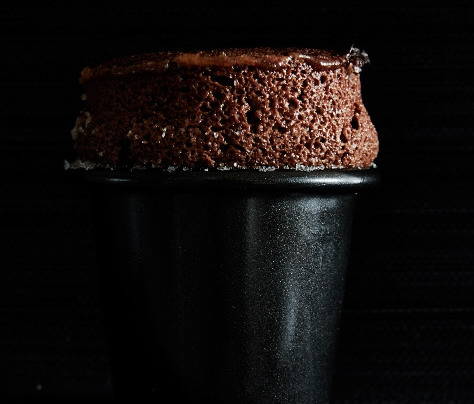 Soufflé au chocolat et à l'orange