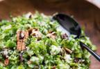 Salade de chou Kale à la feta, cranberries et quinoa